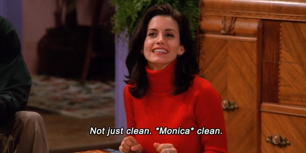 """Don't be Monica because there are no """"safesolvents"""""""